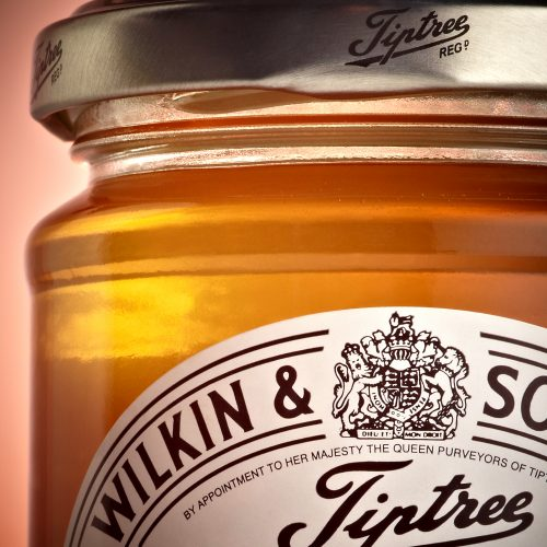 Jar of Wilkins & Tiptree honey - Food and drink photography