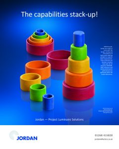 Jordan project luminaire solutions stacking cups concept photography